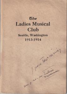 1913-1914 Members' Book