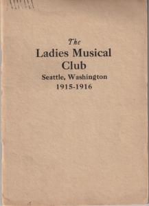 1915-1916 Members' Book