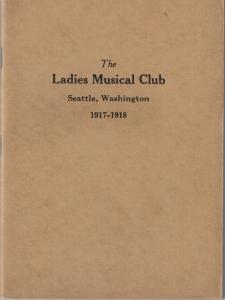 1917-1918 Members' Book