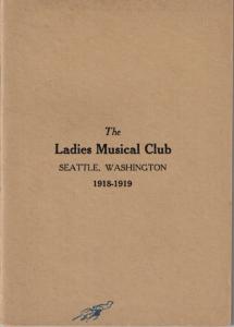 1918-1919 Members' Book