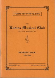 1936-1938 Members' Book