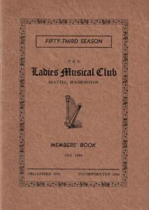 1942-1944 Members' Book