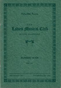1944-1946 Members' Book