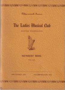 1946-1948 Members' Book