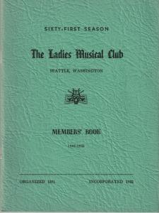 1948-1950 Members' Book
