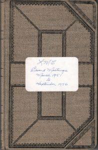 1951-1955 LMC Secretary's Minutes