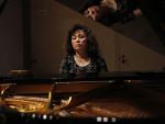 Nicole Kim at the piano