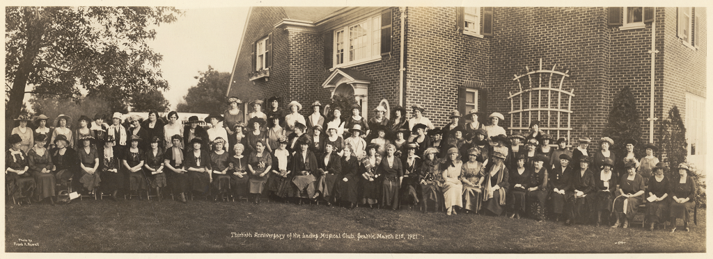 Ladies Musical Club 1921